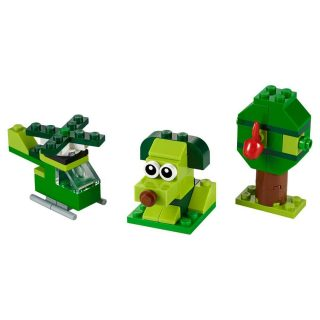 Констр-р LEGO Классика Зелёный набор для конструирования