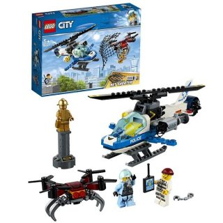 Констр-р LEGO City Police Воздушная полиция: погоня дронов