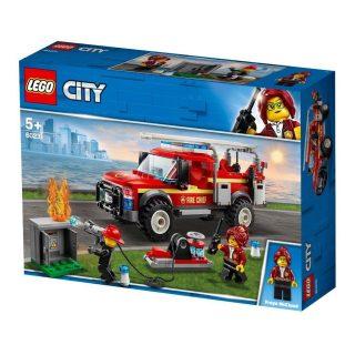 Констр-р LEGO City Town Грузовик начальника пожарной охраны