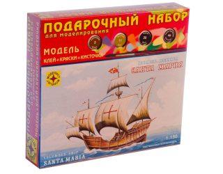 Модель корабль Колумба  Санта-Мария  (1:150)