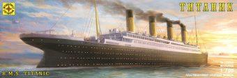 """Модель лайнер """"Титаник"""" (1:700)"""