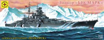 Модель Линкор Бисмарк, 1:350
