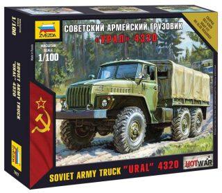 Модель Советский армейский грузовик Урал 4320
