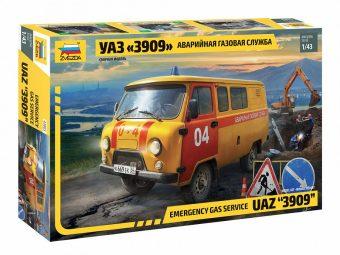 "Модель УАЗ ""3909"" Аварийно-газовая служба"