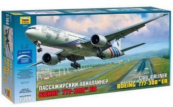 Модель Пасс. авиалайнер Боинг 767-300