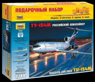 Модель Пасс. авиалайнер Ту-154
