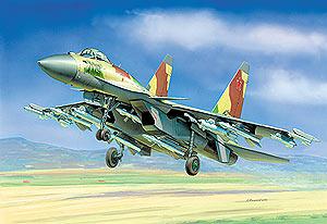 Модель ПН Самолет Су-35