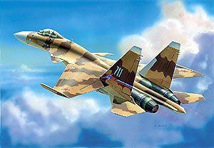 Модель Самолет Су-37