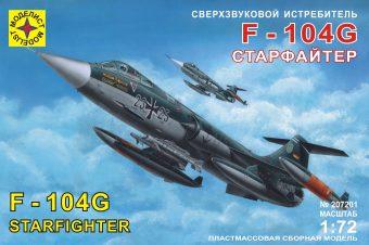 Модель Сверхзвуковой истребитель F-104G  Старфайтер, 1:72