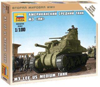 Модель Американский танк М3 ?Ли?