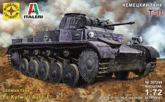 Модель Немецкий танк Т-II  1:72