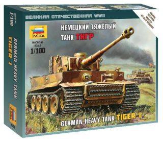 Модель Немецкий тяжелый танк Тигр