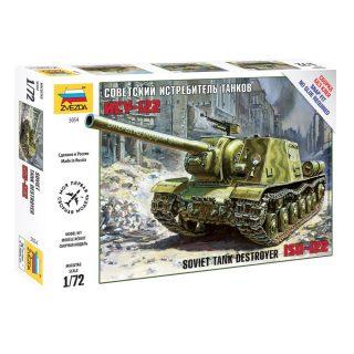 Модель Советский истребитель танков ИСУ-122