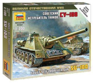 Модель Советский истребитель танков СУ-100
