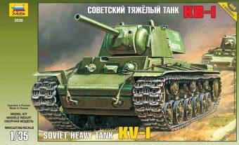 Модель Советский танк КВ-1