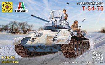 Модель Советский танк Т-34-76 (1:72)