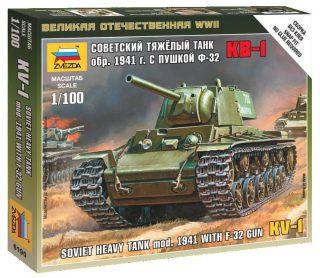 Модель Советский тяжелый танк КВ-1