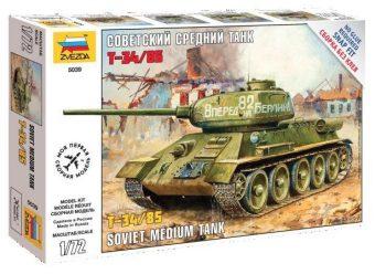Модель Танк Т-34/85