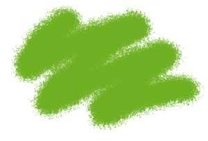 Краска зеленая