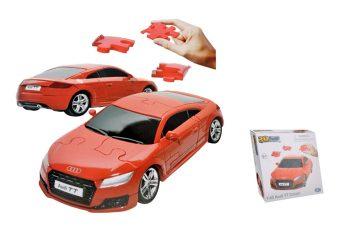 1:43 Audi TT Coupe Coupe 3D Puzzle Non Assemble