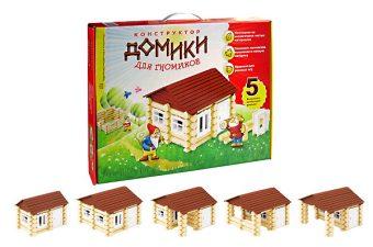 Констр-р Домики для Гномиков, 5 комб-ций домиков