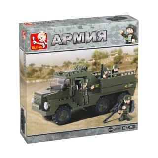 Констр-р серии Армия, Военный грузовик, 230 дет.