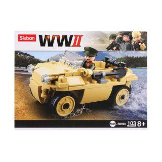 Констр-р серии Вторая мировая, Военный патруль, 103 дет., СОБРАН