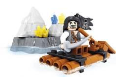 Констр-р серии Пираты, 48  дет.
