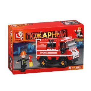 Констр-р серии Пожарный, Пожарные спасатели, 133 дет. СОБРАН