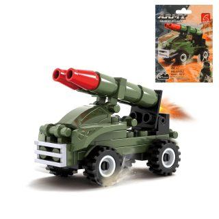 Конструктор серии Армия, Ракетница, 42 дет., пакет