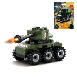 Конструктор серии Армия, Танк, 41 дет., пакет