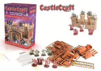 Конструктор, мини-замок CastleCraft №4: Русичи и Крестоносцы