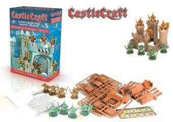 Конструктор, мини-замок CastleCraft №5: Римляне и Варвары