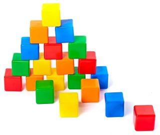 Набор кубиков - 2, 20 шт.