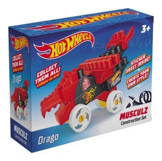 Констр-р Hot Wheels серия musculz Drago, 18 эл
