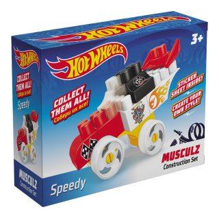 Констр-р Hot Wheels серия musculz Speedy, 16 эл