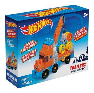 Констр-р Hot Wheels серия trailerz Frost + Mazer, 42 эл