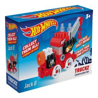 Констр-р Hot Wheels серия truckz Jack 8, 28 эл