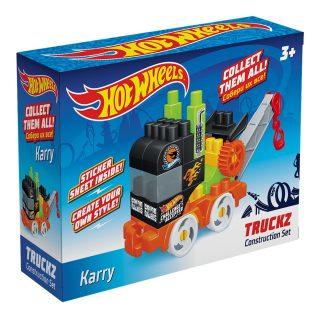 Констр-р Hot Wheels серия truckz Karry, 26 эл