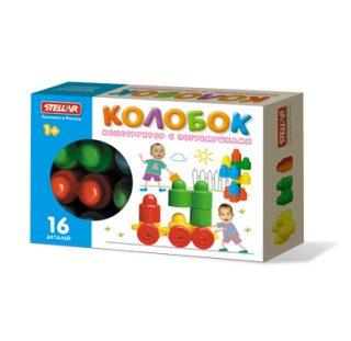 Констр-р Колобок 16дет.,коробка