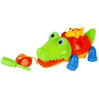 Конструктор-скрутка Крокодильчики,  в ассортименте