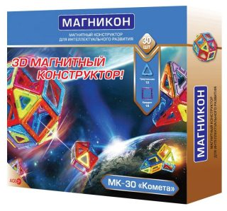 Констр-р магнитный Магникон Комета, 30 дет.