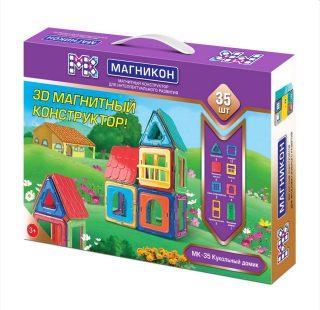 Констр-р магнитный Магникон Кукольный домик