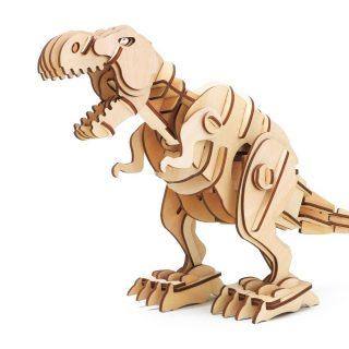 Констр-р из дерева Динозавр T-Rex, 102 эл, на р/у