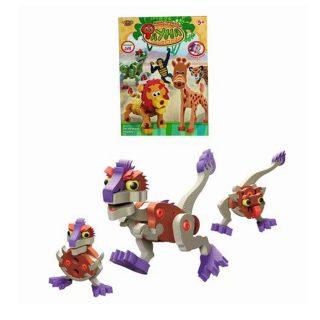 Констр-р мягкий Динозаврик 60 деталей