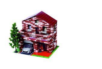 Констр-р Архитектурное моделирование Дом с мансардой 805 дет.