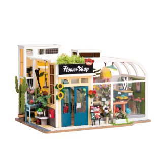 Конст-р интерьерный Цветочный магазин, 236 эл, подсветка