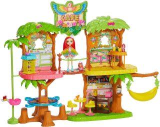 Игр. набор Enchantimals Джунгли-кафе с куклой