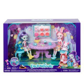 Игровой набор Enchantimals Чаепитие Пэттер Павлины и Бри Кроли
