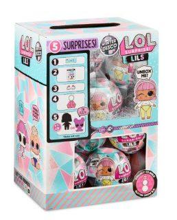 Игрушка LOL Мини кукла или питомец Зимнее Диско, в ассорт.